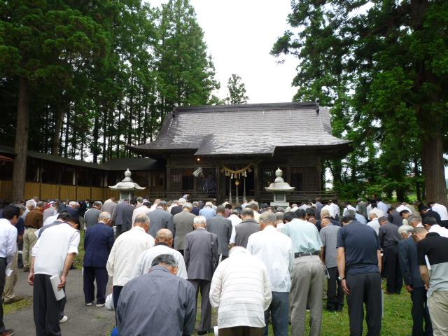延喜式内 鎮岡神社