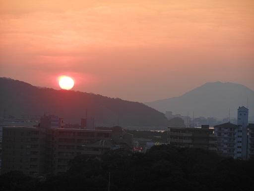 23日夕陽
