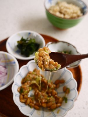 Natto w/toppings
