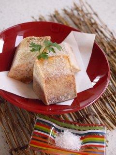 Taro-fry-Sea-salt