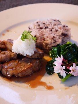 Pork steak, Ume-sauce