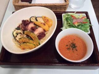 ロハスカフェイタリアンつけ麺