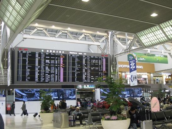 南米旅行:成田空港