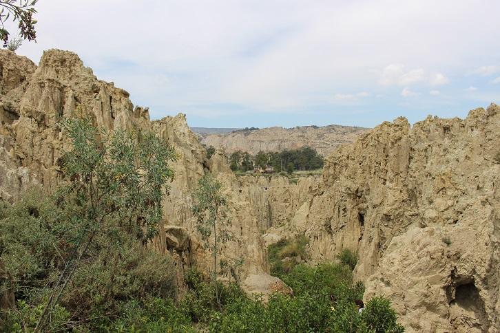ボリビア・ペルー旅行:月の谷