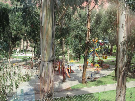 南米旅行:ボリビア・ラパス 公園