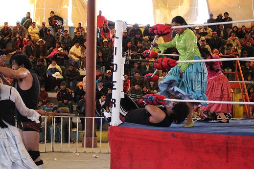 ボリビア・ペルー旅行:オバプロ 大乱闘4