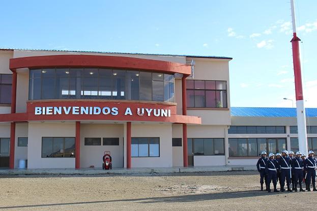 ボリビア・ペルー旅行:ウユニ塩湖 空港