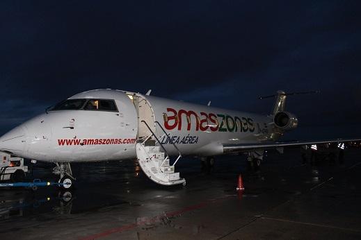 ボリビア・ペルー旅行:ウユニ塩湖 飛行機