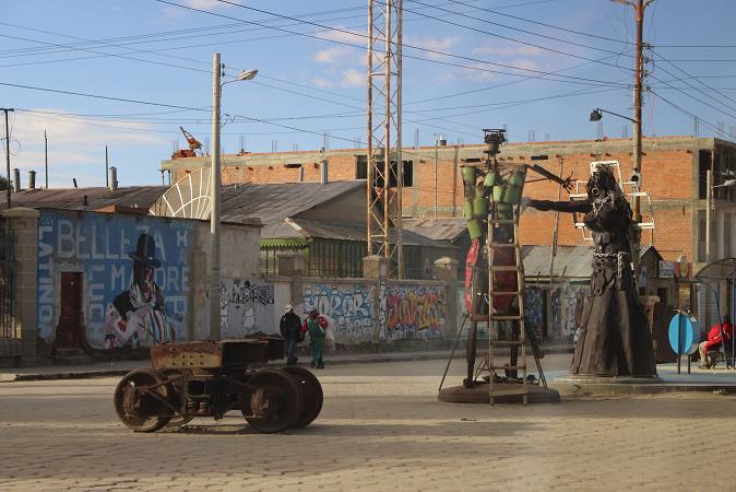 ボリビア・ペルー旅行:ウユニ塩湖 街中