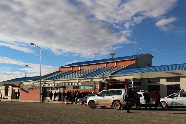 ボリビア・ペルー旅行:ウユニ塩湖 空港2