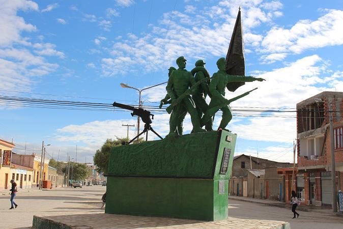 ボリビア・ペルー旅行:ウユニ塩湖 街中2