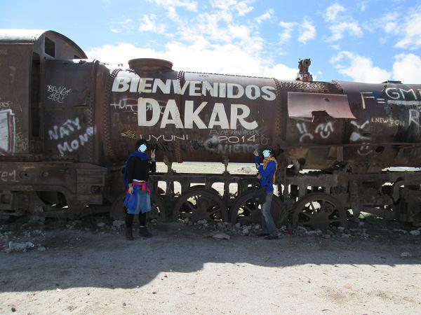 南米旅行:列車の墓場 ウユニ 2014