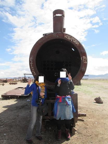 南米旅行:列車の墓場 汽車