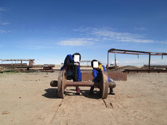 南米旅行:列車の墓場 車輪