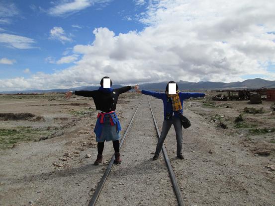 南米旅行:列車の墓場 線路