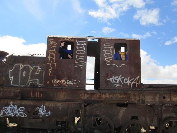 南米旅行:列車の墓場 窓