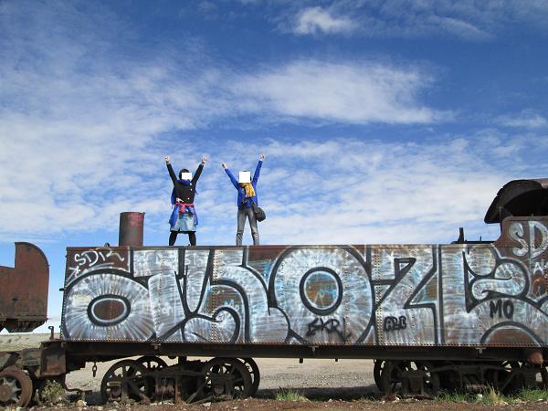 南米旅行:列車の墓場 万歳