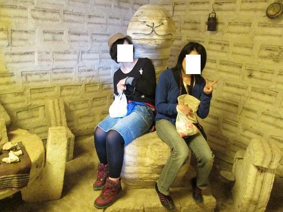 南米旅行:コルチャニ村 塩の博物館 塩像2