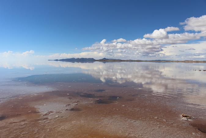 ボリビア・ペルー旅行:ウユニ塩湖 湧水