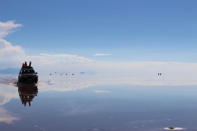 ボリビア・ペルー旅行:ウユニ塩湖 4WD 帰り