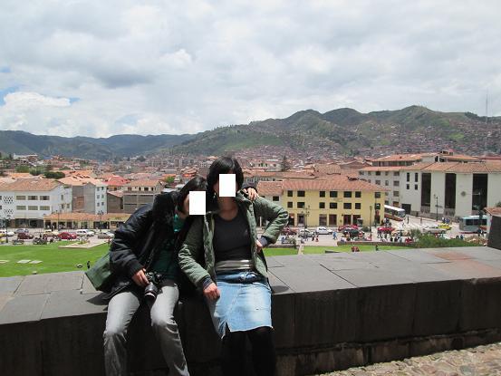 南米旅行:ペルー クスコ市内 サントドミンゴ教会