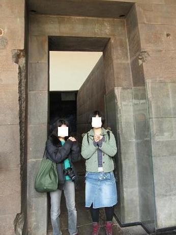 南米旅行:ペルー クスコ市内 サントドミンゴ 石組み
