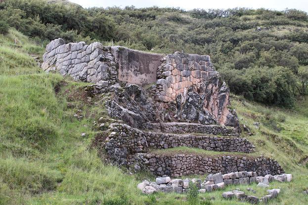 ボリビア・ペルー旅行:クスコ タンボマチャイ 石組み