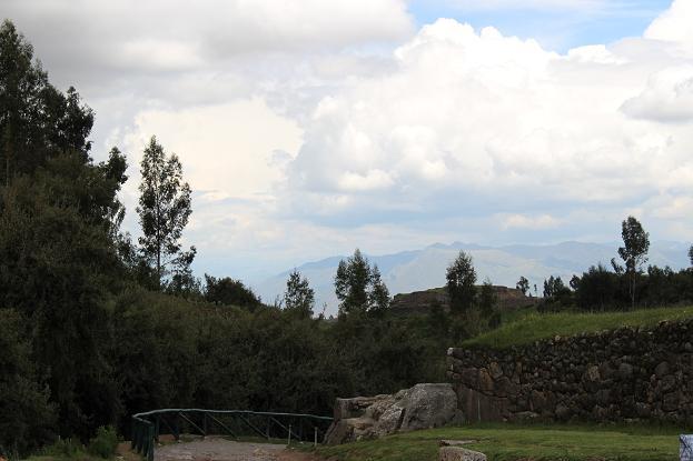 ボリビア・ペルー旅行:クスコ タンボマチャイ 赤の城塞2