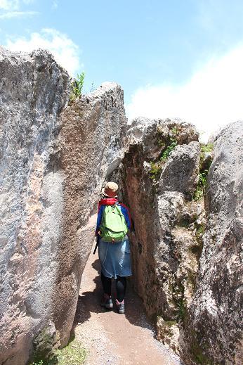 ボリビア・ペルー旅行:クスコ ケンコー