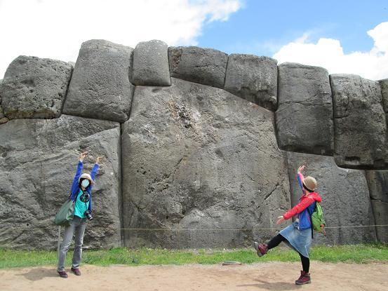 南米旅行:クスコ サクサイワマン 巨大岩