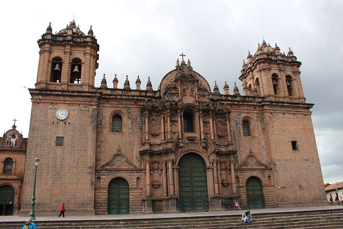 ボリビア・ペルー旅行:アルマス広場 カテドラル