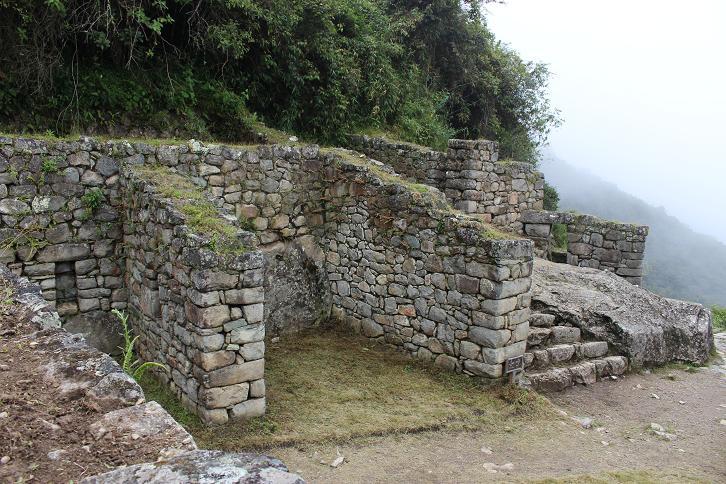 ボリビア・ペルー旅行:マチュピチュ タンボ(宿泊施設)跡