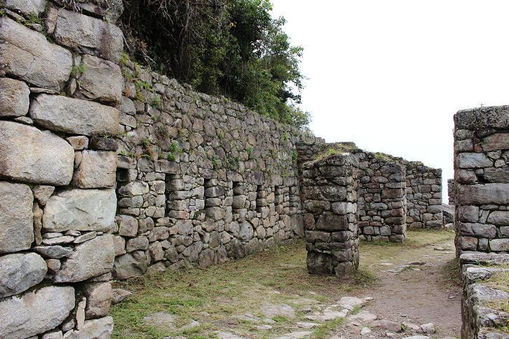 ボリビア・ペルー旅行:マチュピチュ タンボ(宿泊施設)跡2