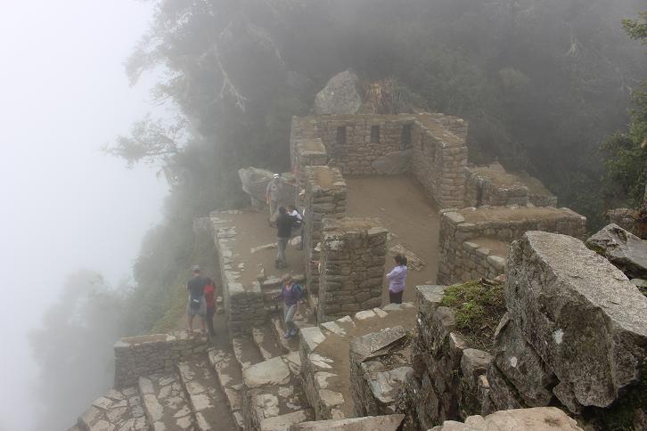 ボリビア・ペルー旅行:マチュピチュ 太陽の門 上
