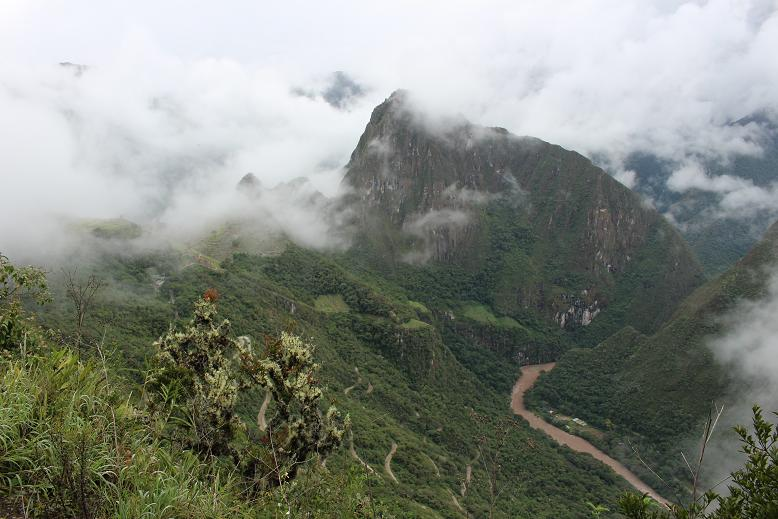 ボリビア・ペルー旅行:マチュピチュ 川