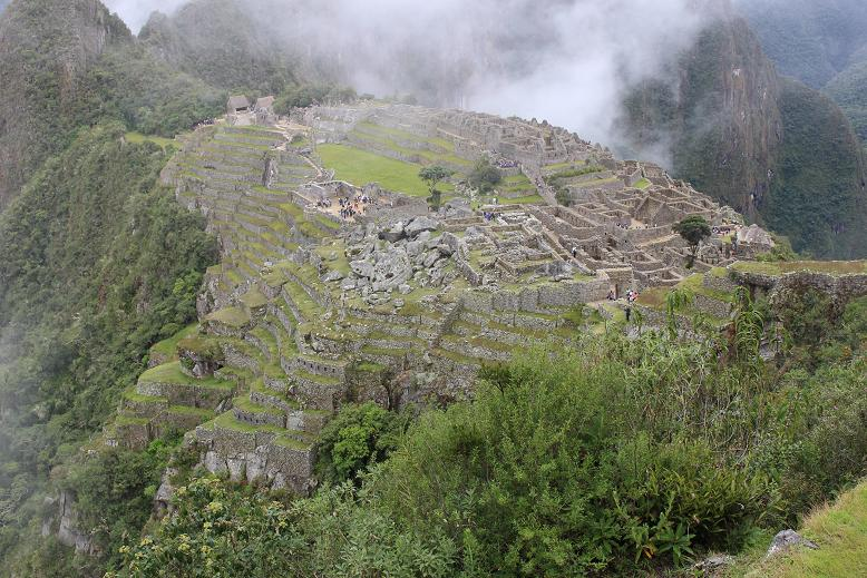 ボリビア・ペルー旅行:マチュピチュ遺跡
