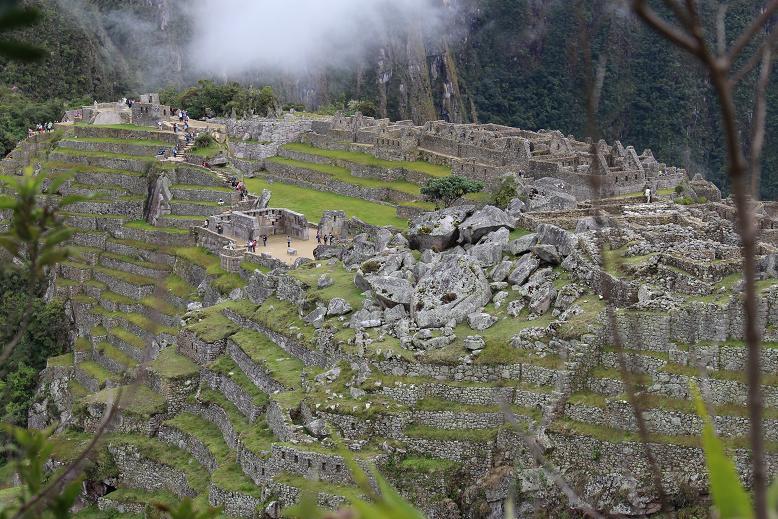 ボリビア・ペルー旅行:マチュピチュ遺跡2