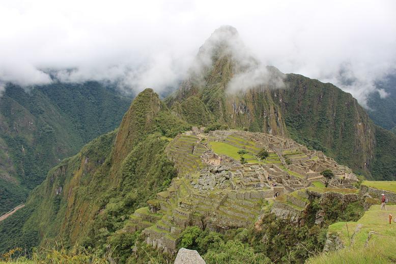 ボリビア・ペルー旅行:マチュピチュ遺跡3