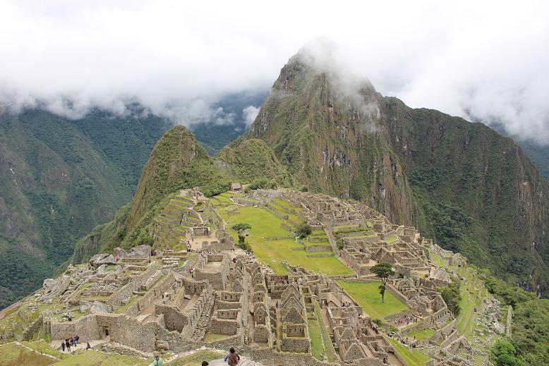 ボリビア・ペルー旅行:マチュピチュ遺跡5