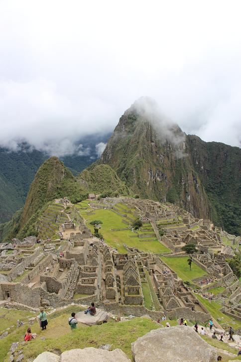 ボリビア・ペルー旅行:マチュピチュ遺跡6
