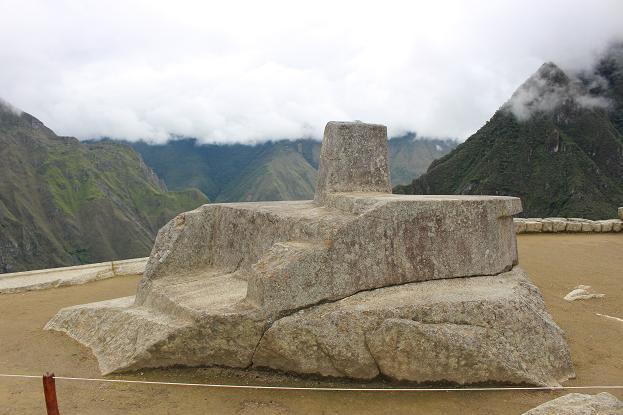 ボリビア・ペルー旅行:マチュピチュ遺跡 インティワタナ