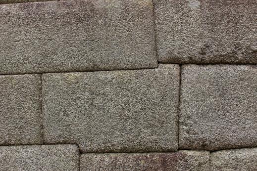 ボリビア・ペルー旅行:マチュピチュ遺跡 壁2