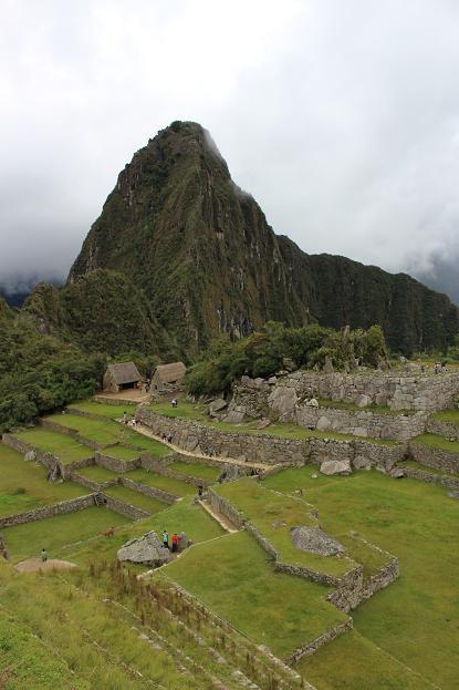 ボリビア・ペルー旅行:マチュピチュ遺跡 メイン広場