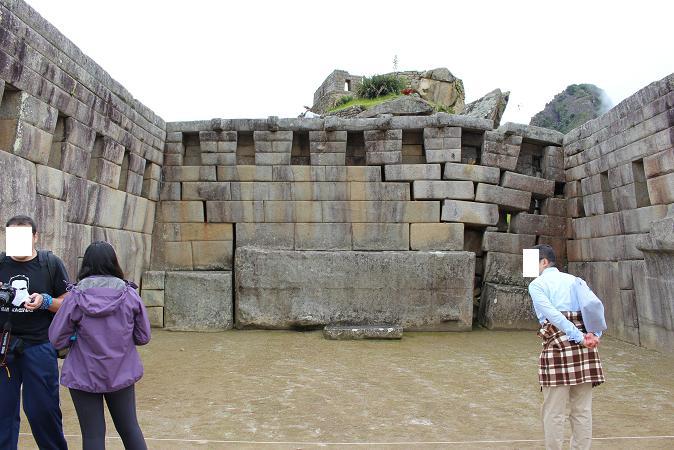 ボリビア・ペルー旅行:マチュピチュ遺跡 主神殿