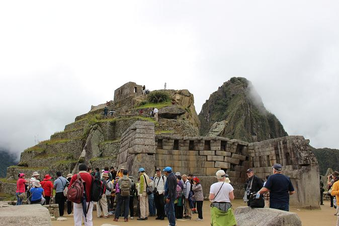ボリビア・ペルー旅行:マチュピチュ遺跡 主神殿2