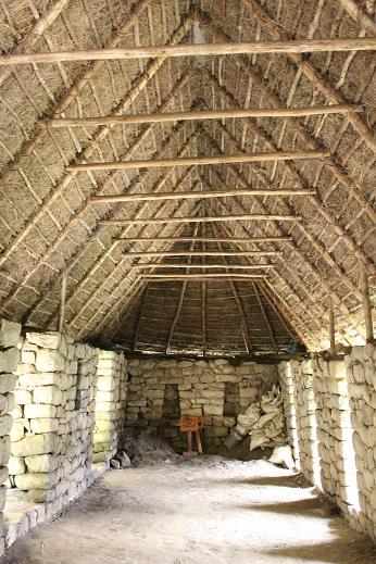 ボリビア・ペルー旅行:マチュピチュ遺跡 倉庫 内部
