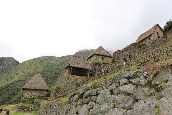 ボリビア・ペルー旅行:マチュピチュ遺跡 倉庫