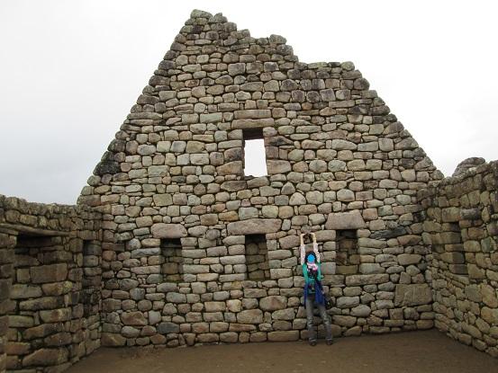 南米旅行:マチュピチュ遺跡 倉庫
