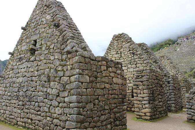 ボリビア・ペルー旅行:マチュピチュ遺跡 三角