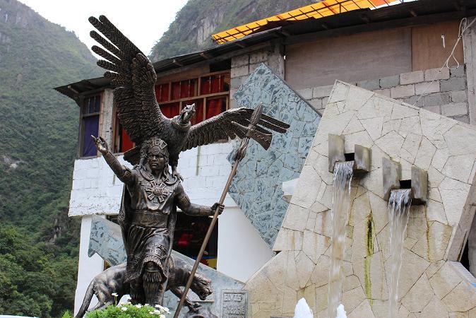 ボリビア・ペルー旅行:マチュピチュ村 像